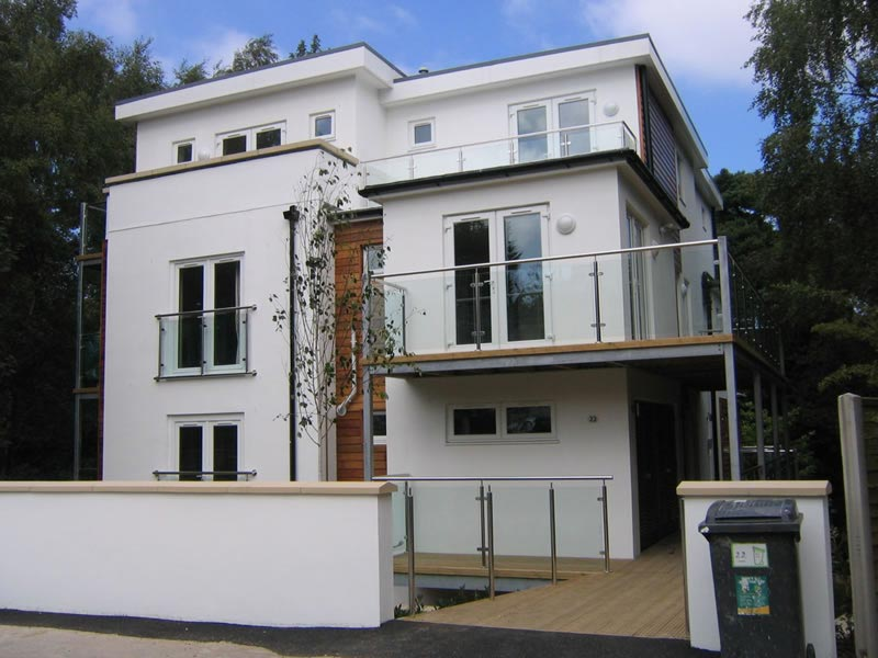 Completed new build home project by TP Carpentry, Bournemouth