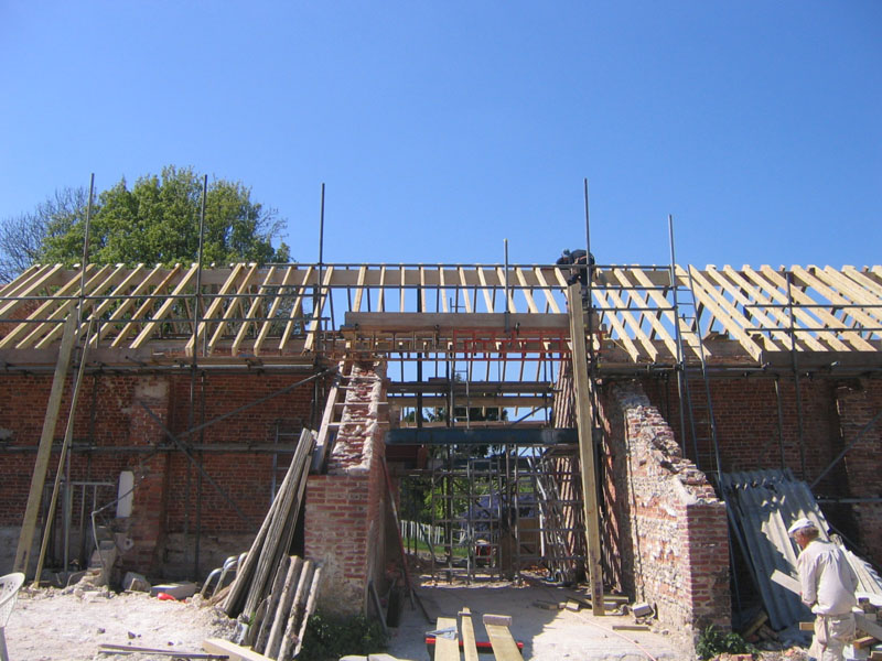 Exterior loft conversions by Bournemouth loft conversion specialists, TP Carpentry