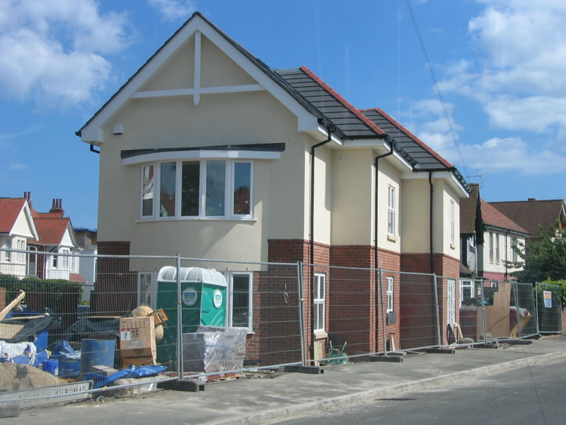 Commercial new builds project by new build specialists, TP Carpentry, Bournemouth