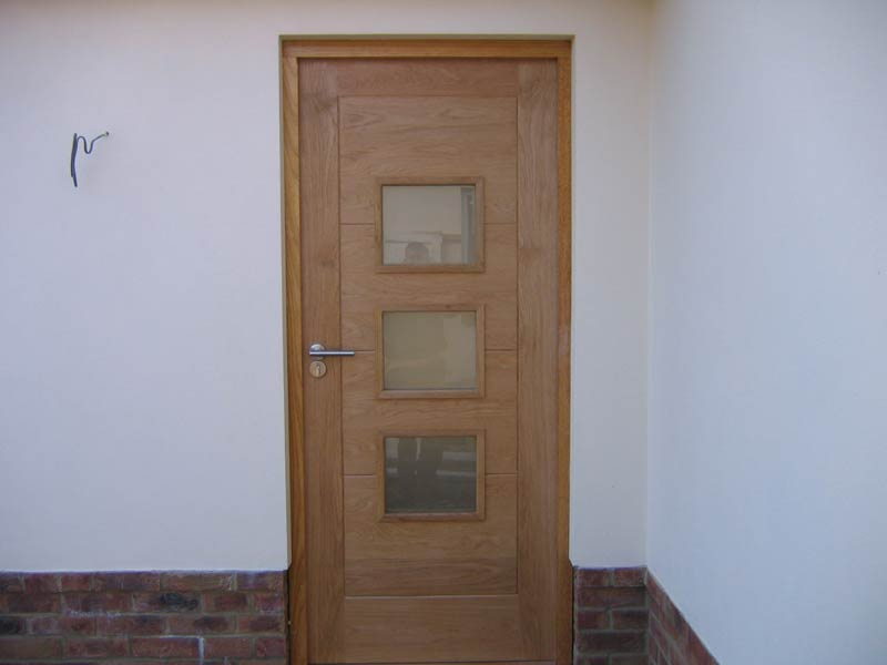 Front door installation by Bournemouth door installation comany TP Carpentry