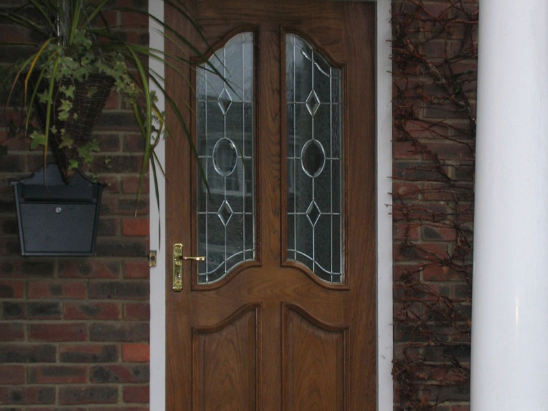 Front door installation, Bournemouth, TP Carpentry