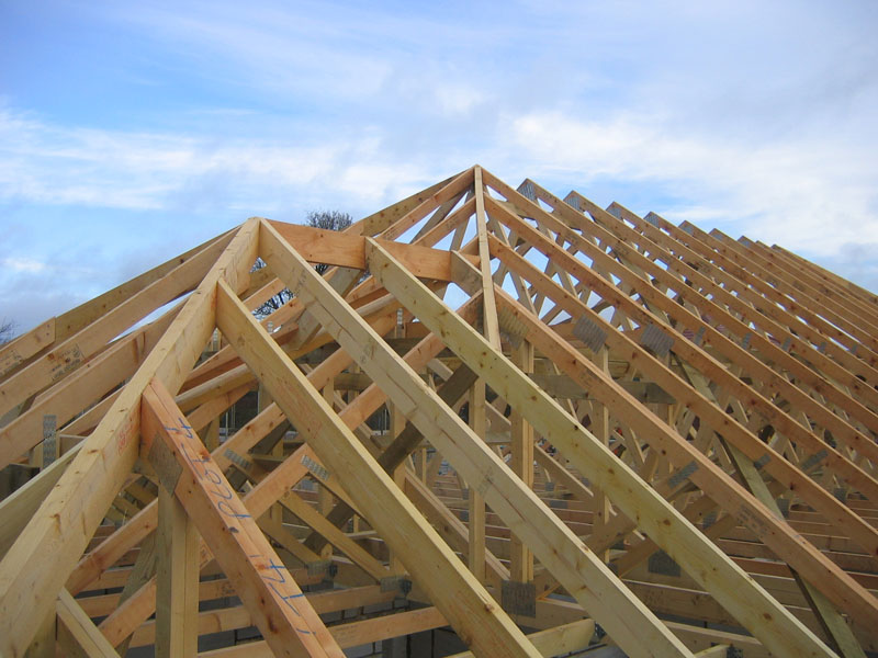 Cut and truss roof construction from TP Carpentry, Bournemouth